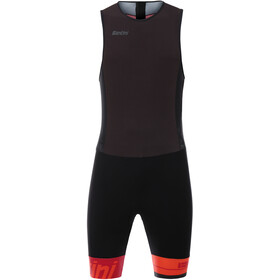 Santini Redux Sleeveless Trisuit Men, red